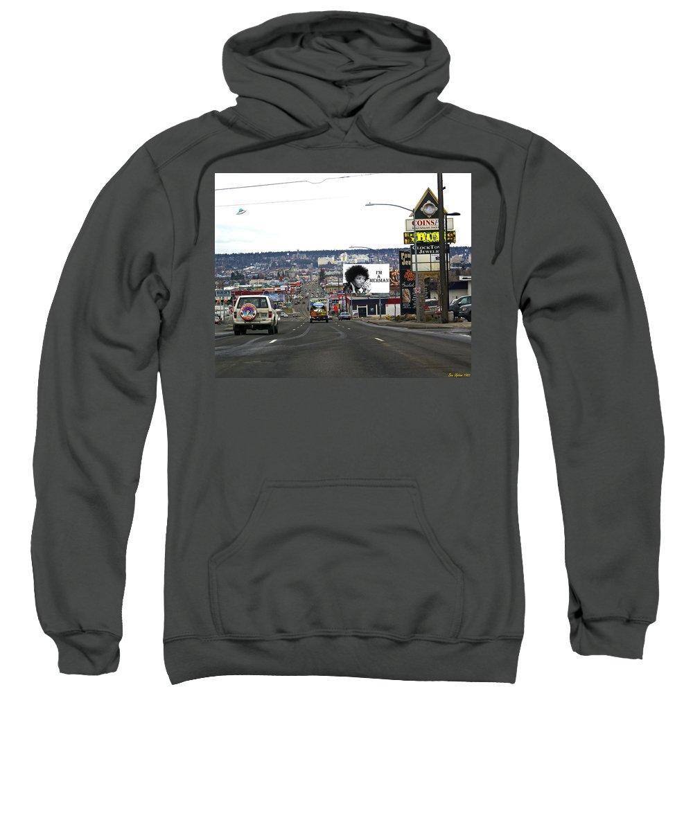 Hendrix Sweatshirt featuring the photograph Im A Merman by Ben Upham III
