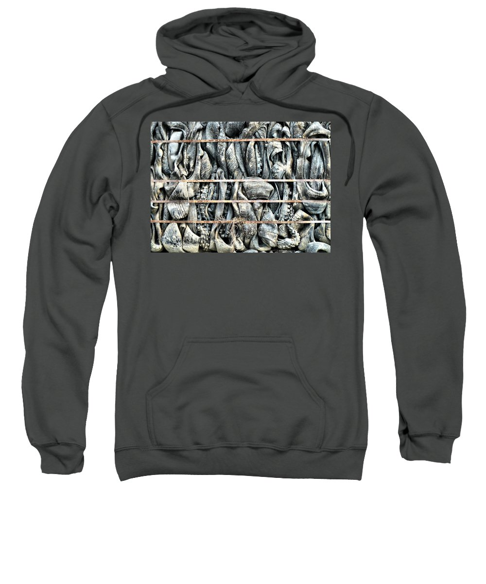 Demolition Sweatshirt featuring the photograph Impenetrable by Steve Taylor