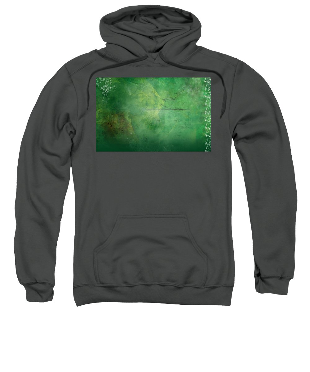 Ivy Sweatshirt featuring the painting Ivy League by Christopher Gaston