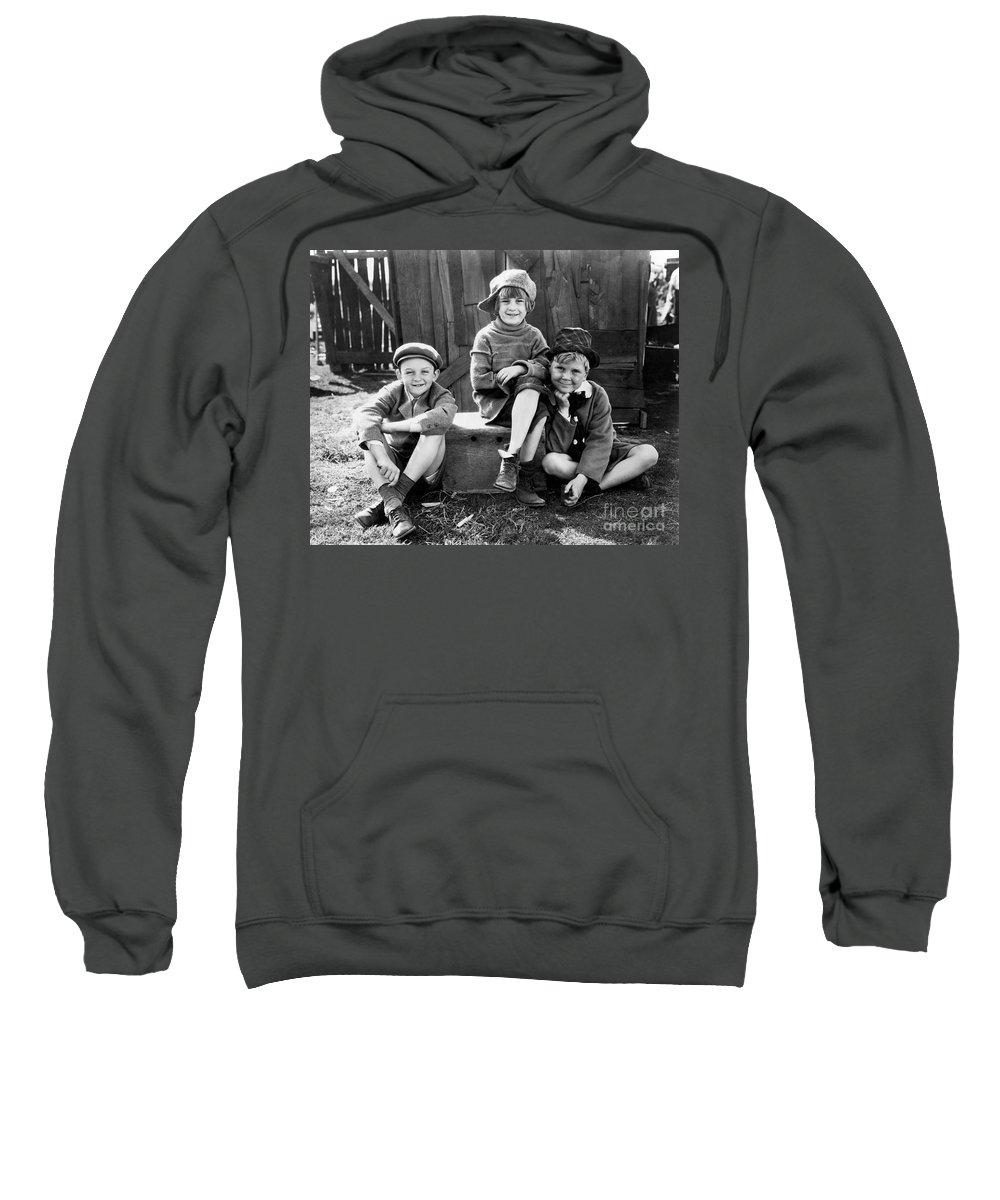 1920s Sweatshirt featuring the photograph Jackie Cooper by Granger