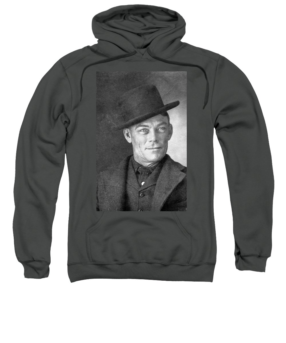 1902 Sweatshirt featuring the photograph Jesse Linsley (b.1868) by Granger