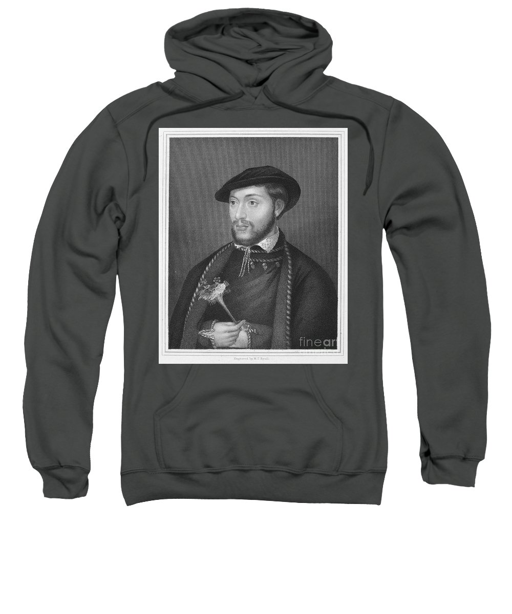 16th Century Sweatshirt featuring the photograph John Dudley (1502?-1553) by Granger