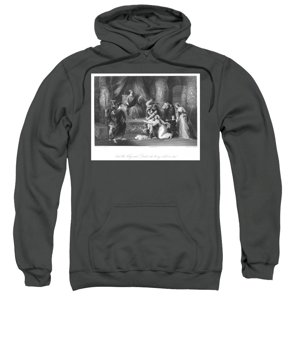 Art Sweatshirt featuring the photograph Judgment Of Solomon by Granger