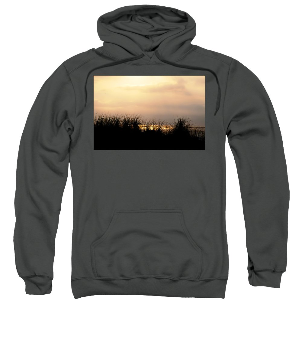 Just Over The Dune Sweatshirt featuring the photograph Just Over The Dune by Bill Cannon