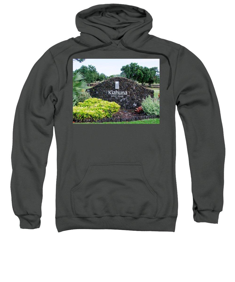 Mary Deal Sweatshirt featuring the photograph Kiahuna Golf Club by Mary Deal