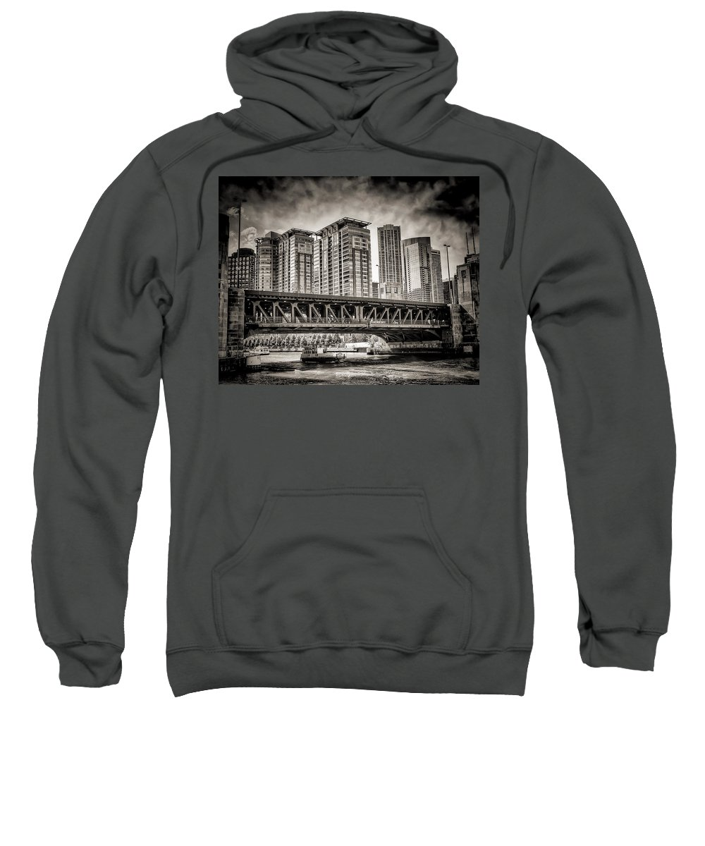 Chicago Sweatshirt featuring the photograph Lake Shore Drive Lsd by Scott Wood