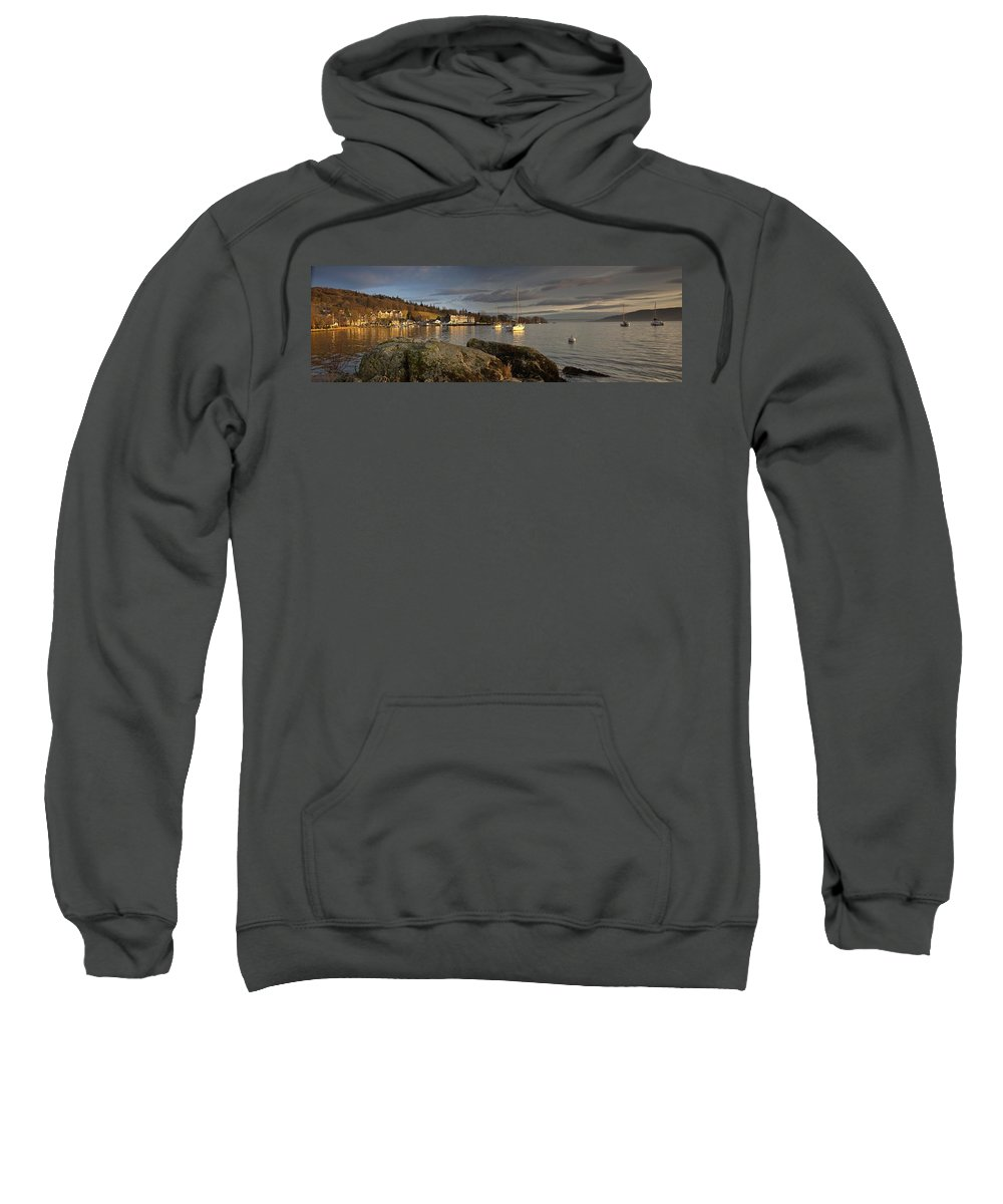 Boat Sweatshirt featuring the photograph Lake Windermere Ambleside, Cumbria by John Short