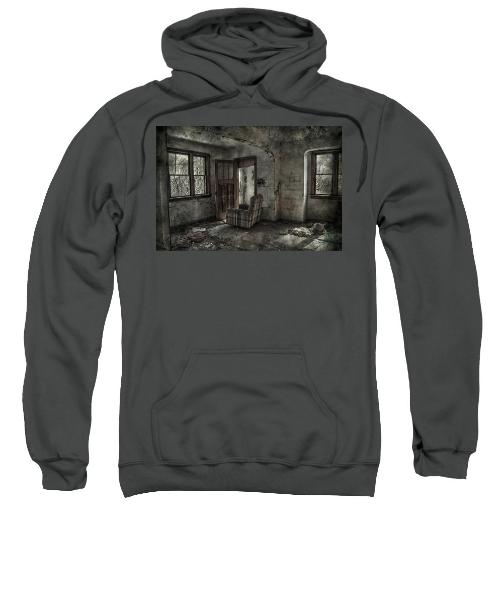 Jerry Cordeiro Sweatshirt featuring the photograph Last Days by The Artist Project