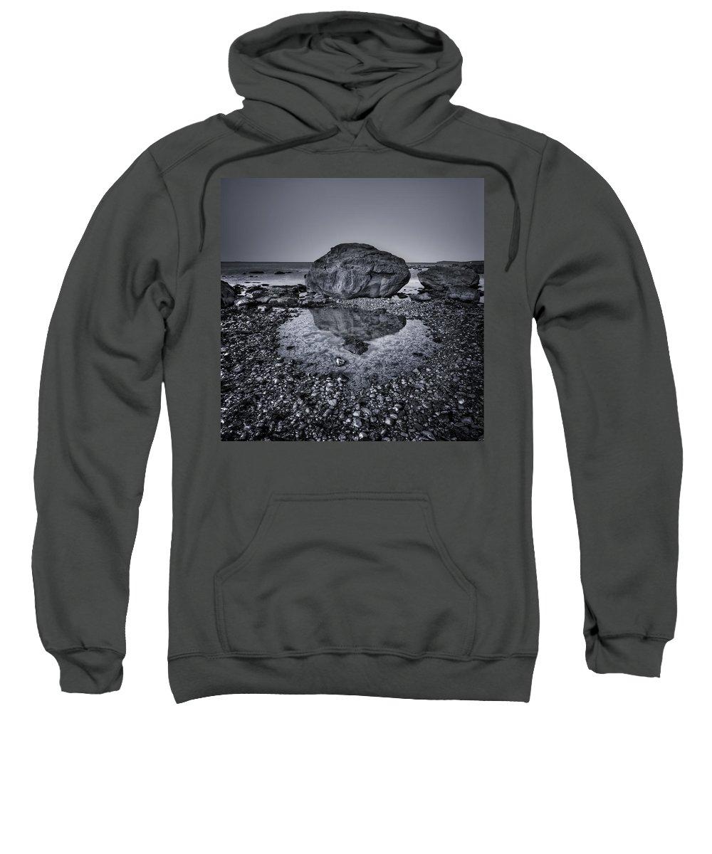 Rock Sweatshirt featuring the photograph Liquid State by Evelina Kremsdorf