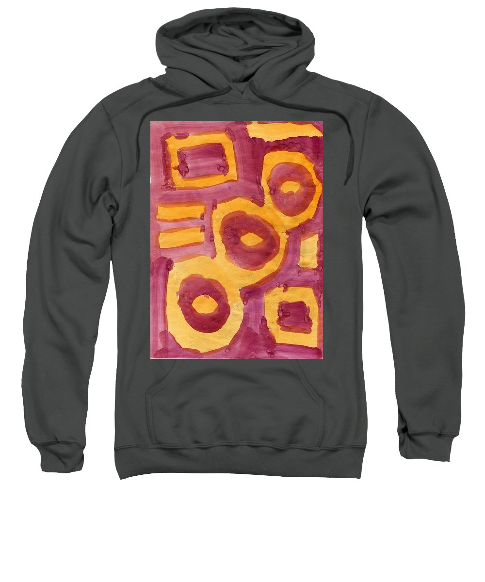 Lost Souls Sweatshirt featuring the painting Lost Souls by Taylor Webb