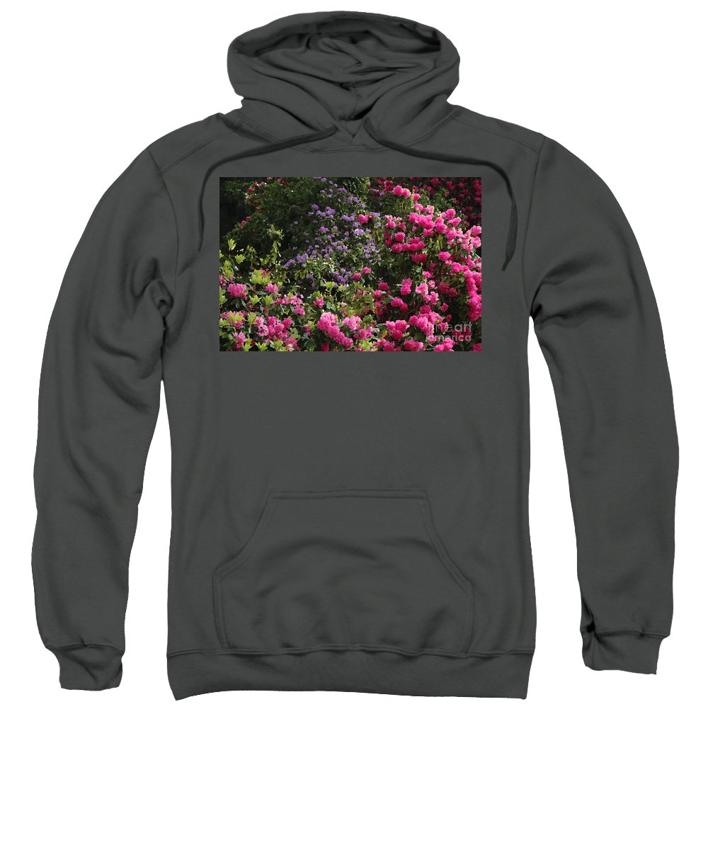 Photo Sweatshirt featuring the photograph Lots Of Blooms by Mike Nellums