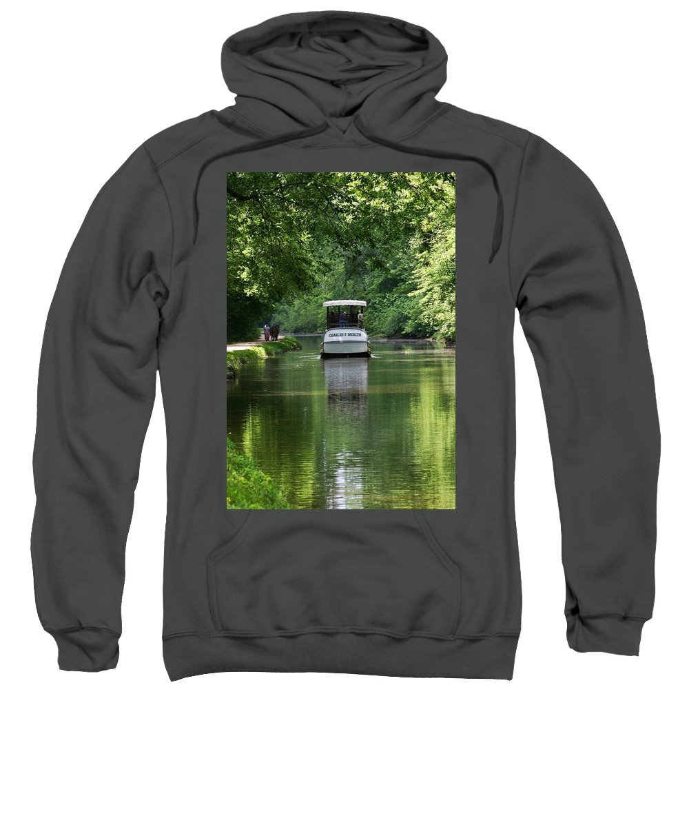 Historic Sweatshirt featuring the photograph Mercer Less by Phil Cappiali Jr