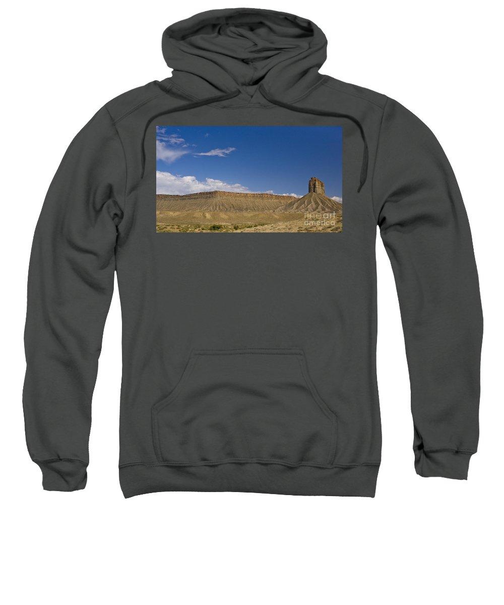 Mesa Sweatshirt featuring the photograph Mesas by Tim Mulina