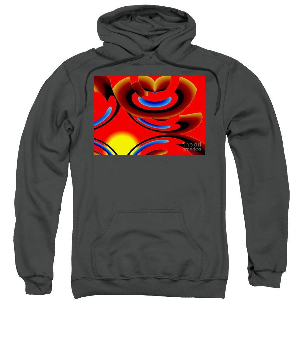 Coffee Sweatshirt featuring the digital art Morning Coffee by Tom Hubbard