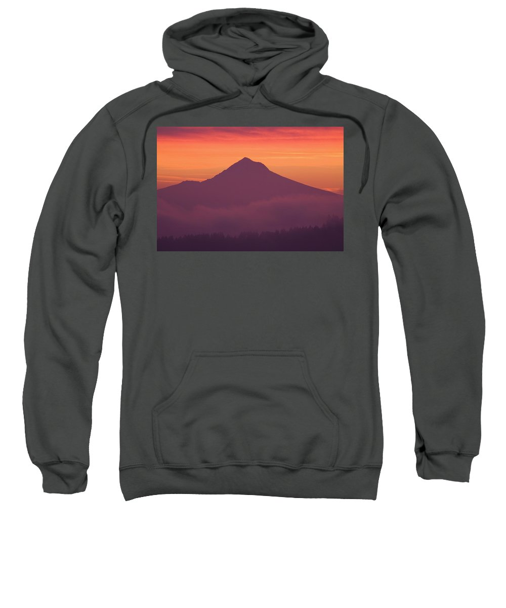 Nature Sweatshirt featuring the photograph Mountain by Craig Tuttle