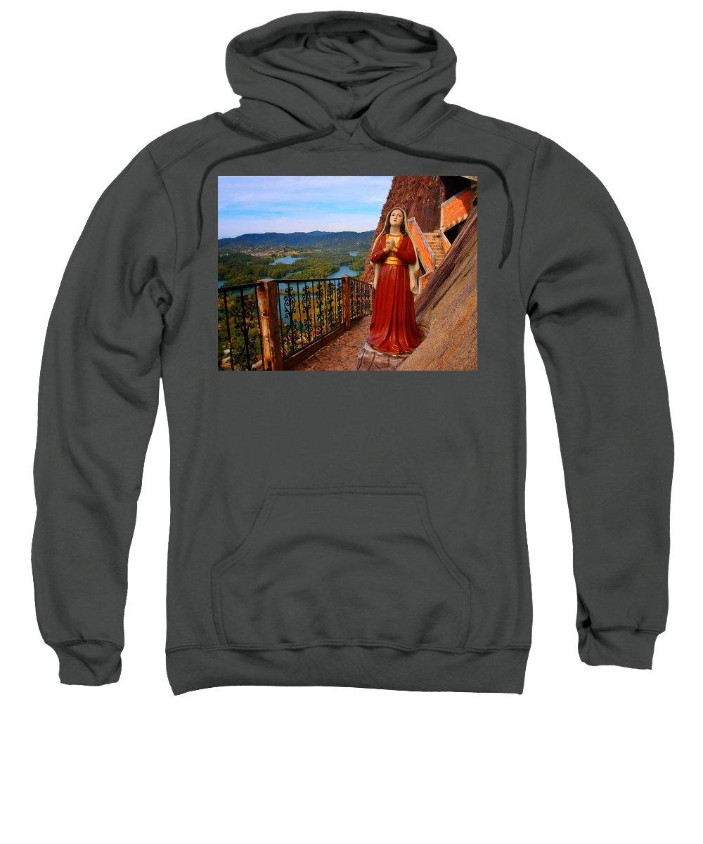 Mujer De La Piedra Sweatshirt featuring the photograph Mujer De La Piedra by Skip Hunt