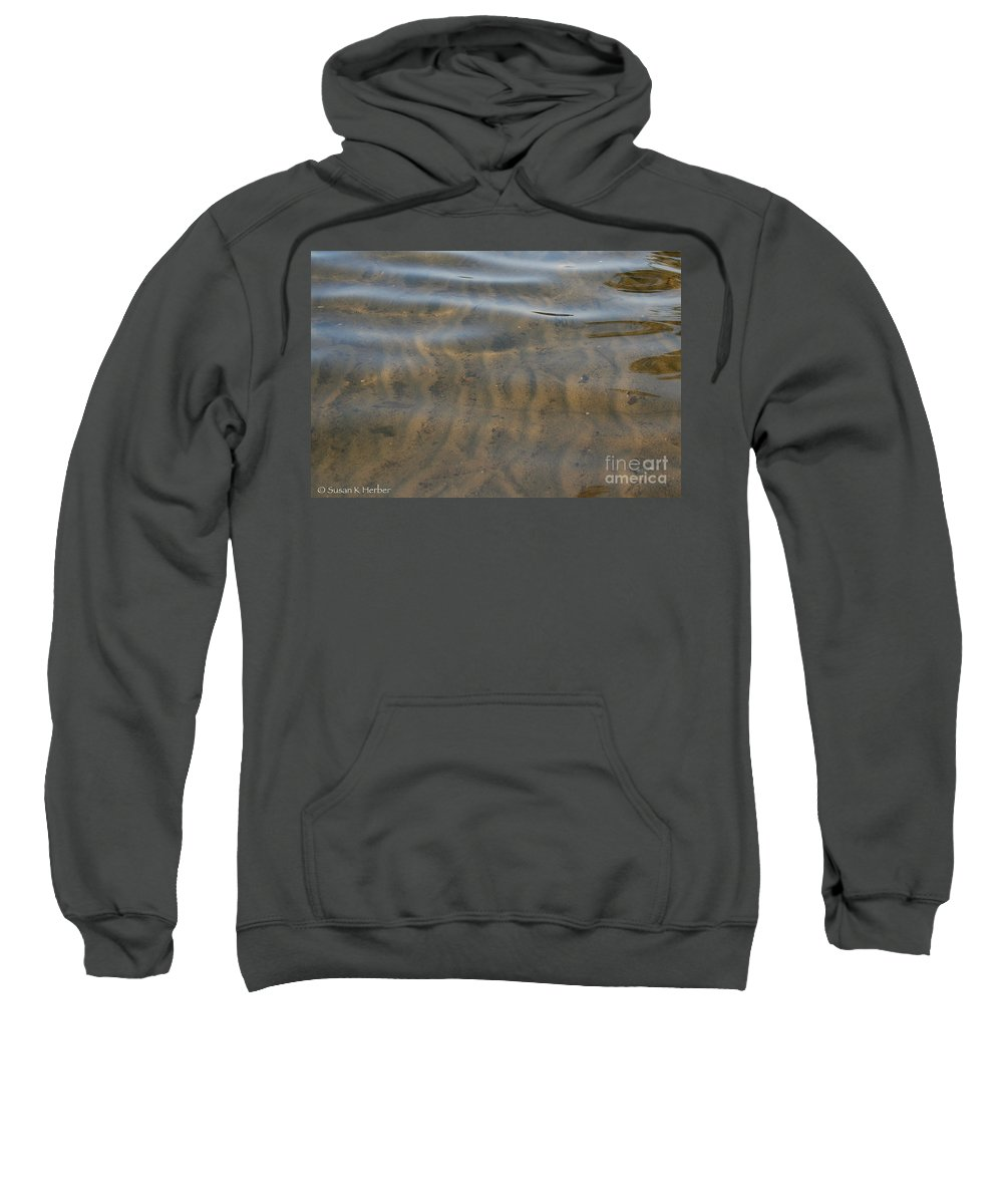 Beach Sweatshirt featuring the photograph Natural Lines by Susan Herber
