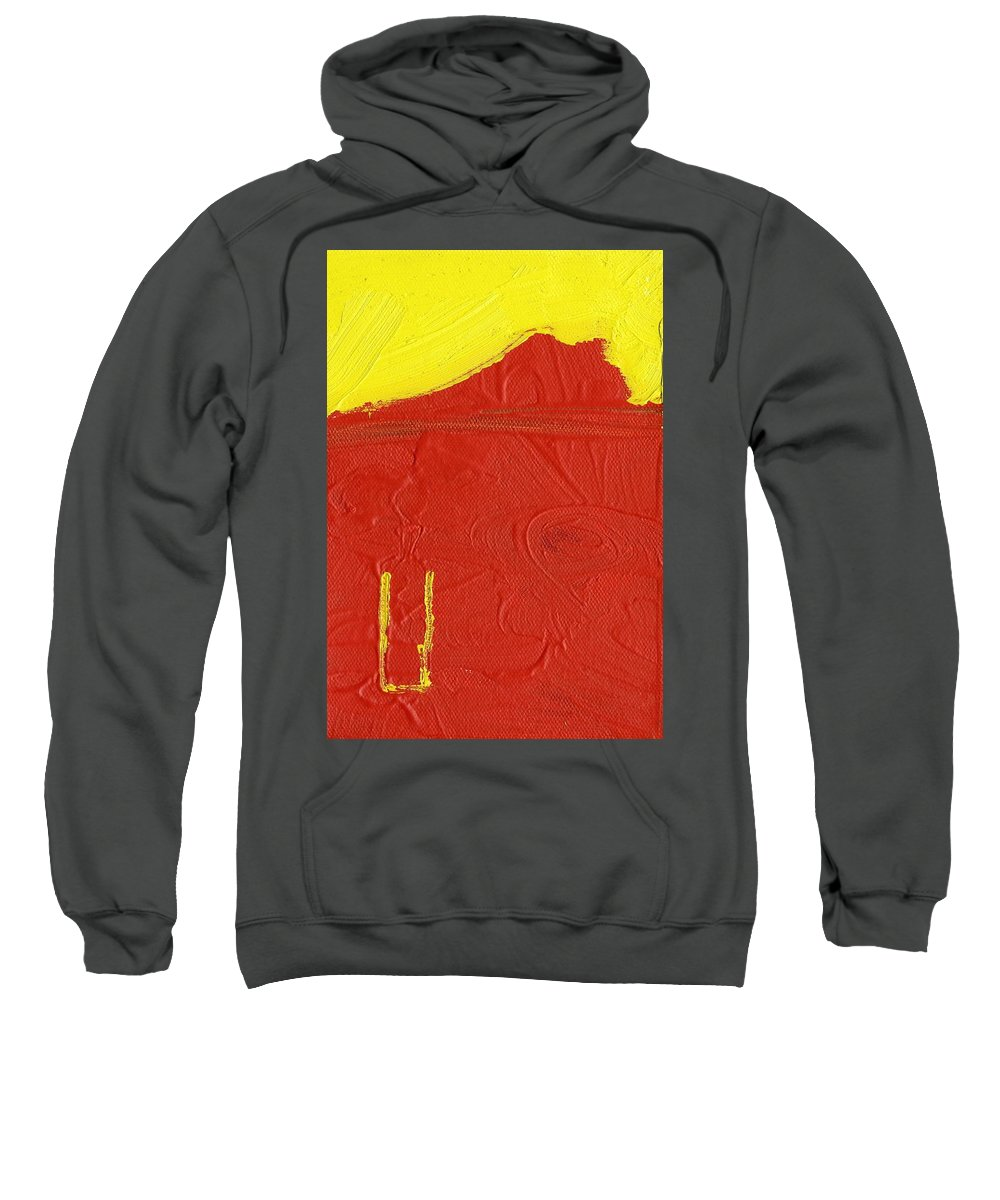 Natural Resource Sweatshirt featuring the painting Natural Resource by Taylor Webb