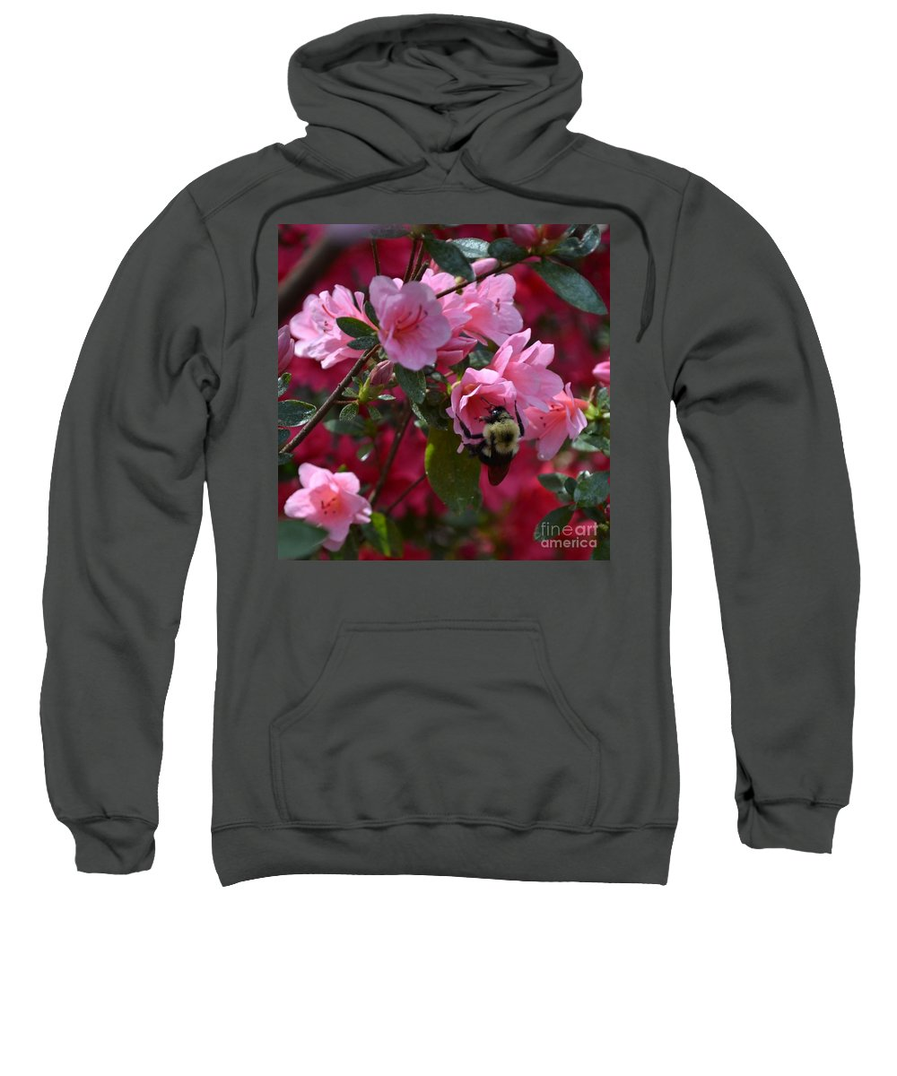Azalea Sweatshirt featuring the photograph Nature's Glory by Mary Rogers