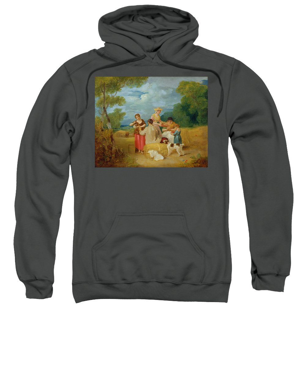 Xyc127220 Sweatshirt featuring the photograph Noon by Francis Wheatley