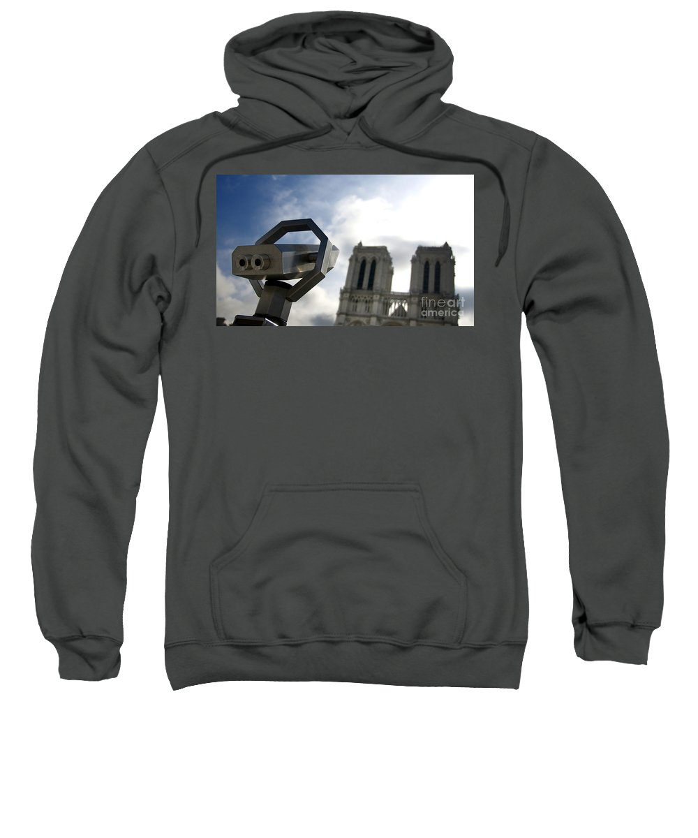 Paris Sweatshirt featuring the photograph Notre Dame De Paris. France by Bernard Jaubert
