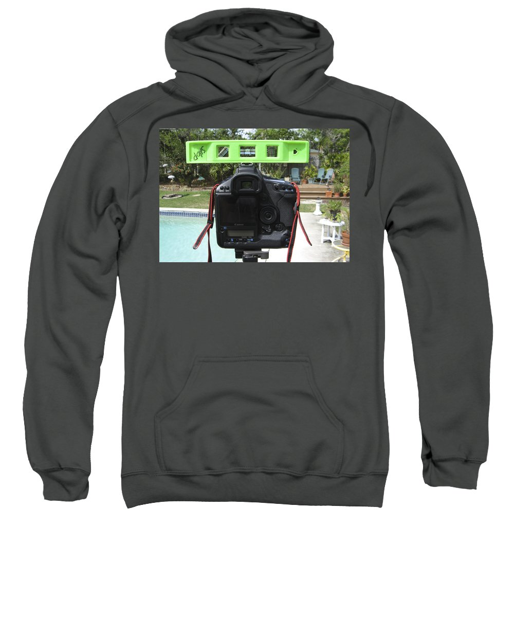 Sweatshirt featuring the photograph Number 12 by Rich Franco