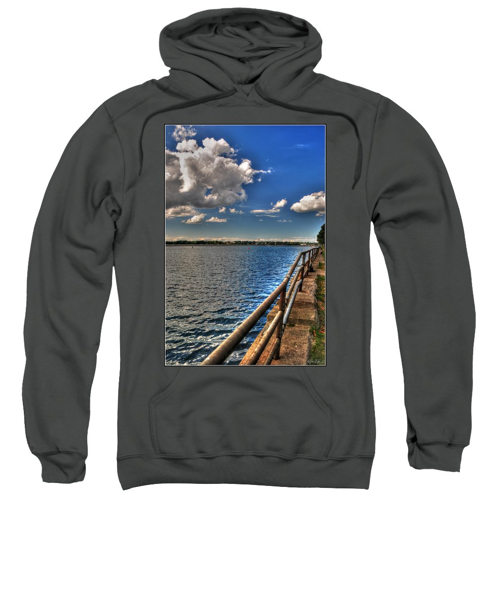 Sweatshirt featuring the photograph On A Sunday Afternoon... by Michael Frank Jr