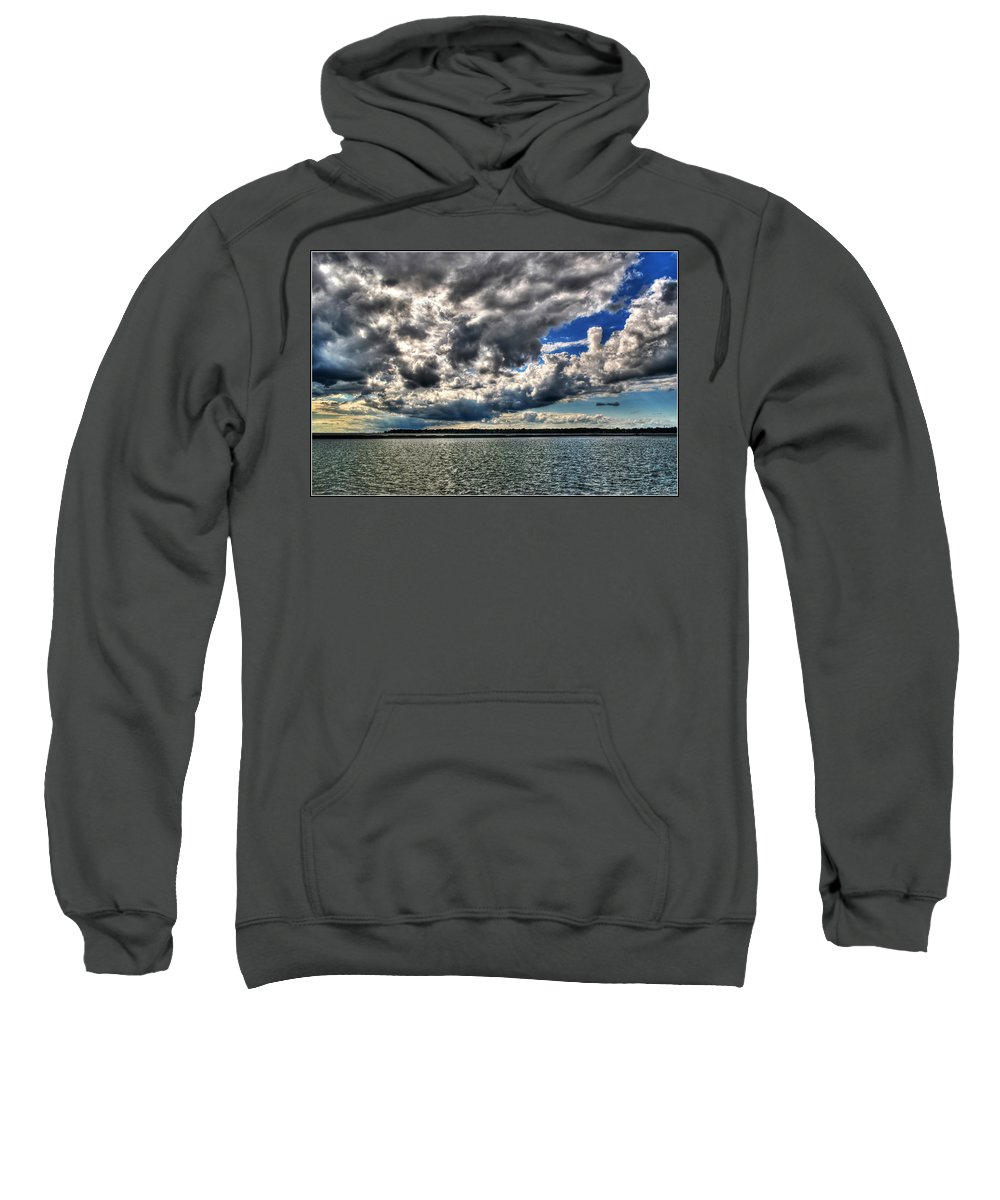 Sweatshirt featuring the photograph Open Skies by Michael Frank Jr
