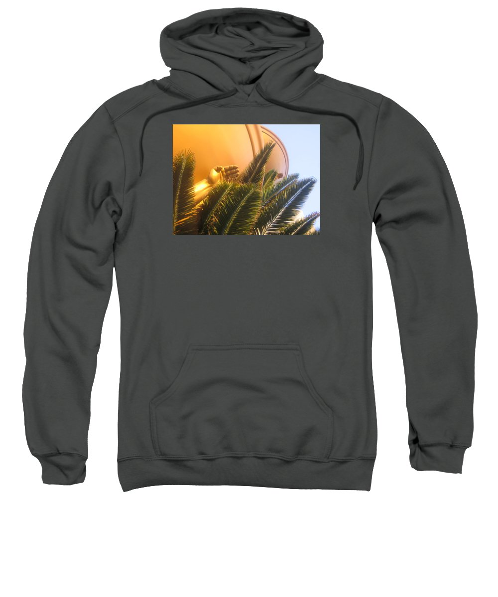 Las Vegas Sweatshirt featuring the photograph Palms by Ted M Tubbs