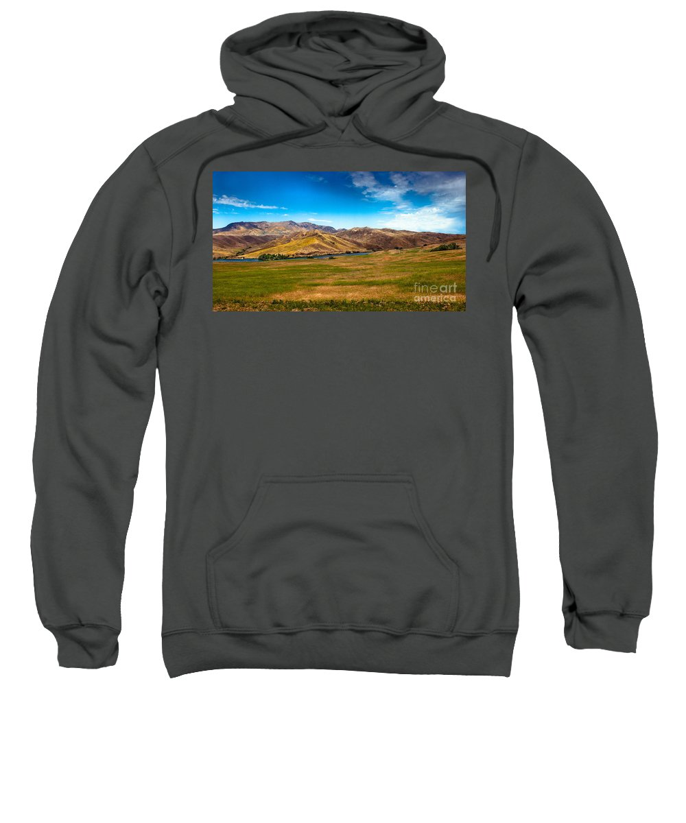 Landsacape Sweatshirt featuring the photograph Panoramic Range Land by Robert Bales
