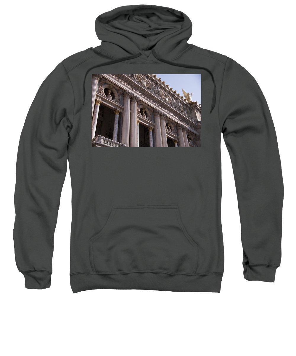 Paris Opera House Sweatshirt featuring the photograph Paris Opera House IIi  Exterior by Jon Berghoff