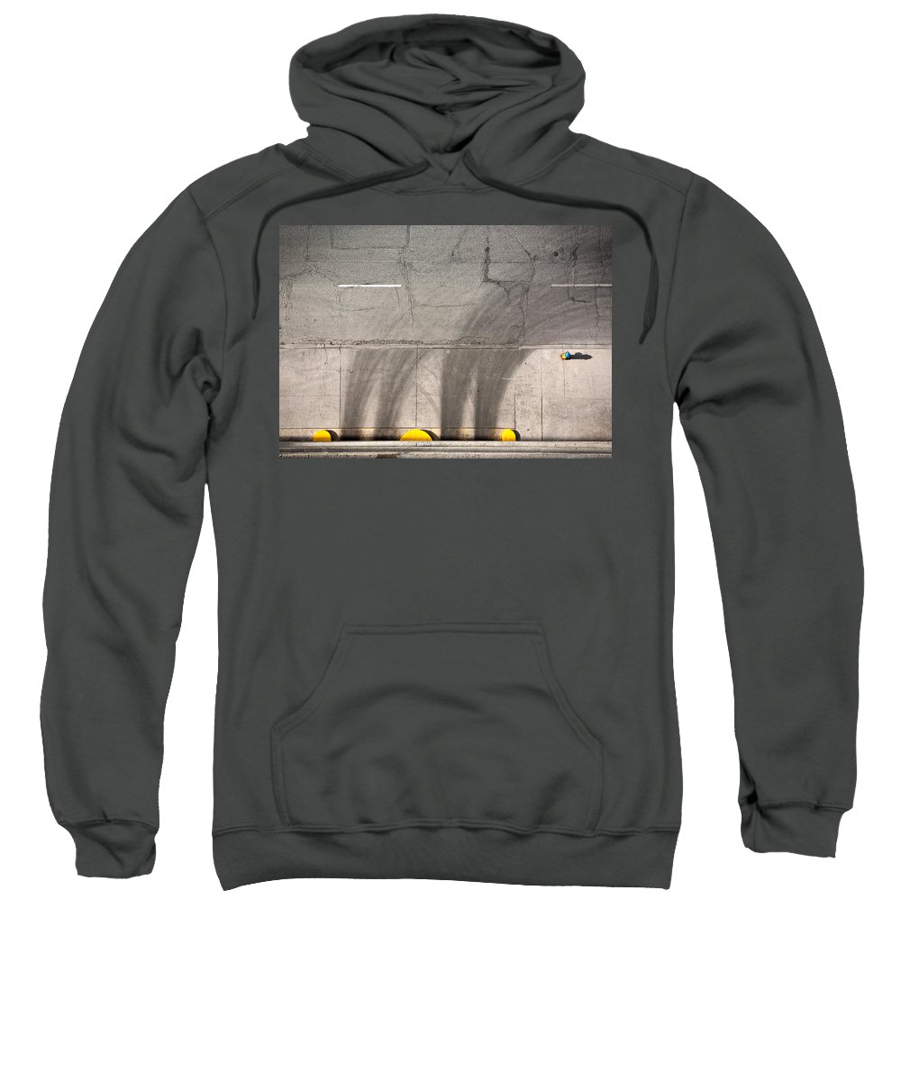 Parking Sweatshirt featuring the photograph Parking Garage by Cale Best