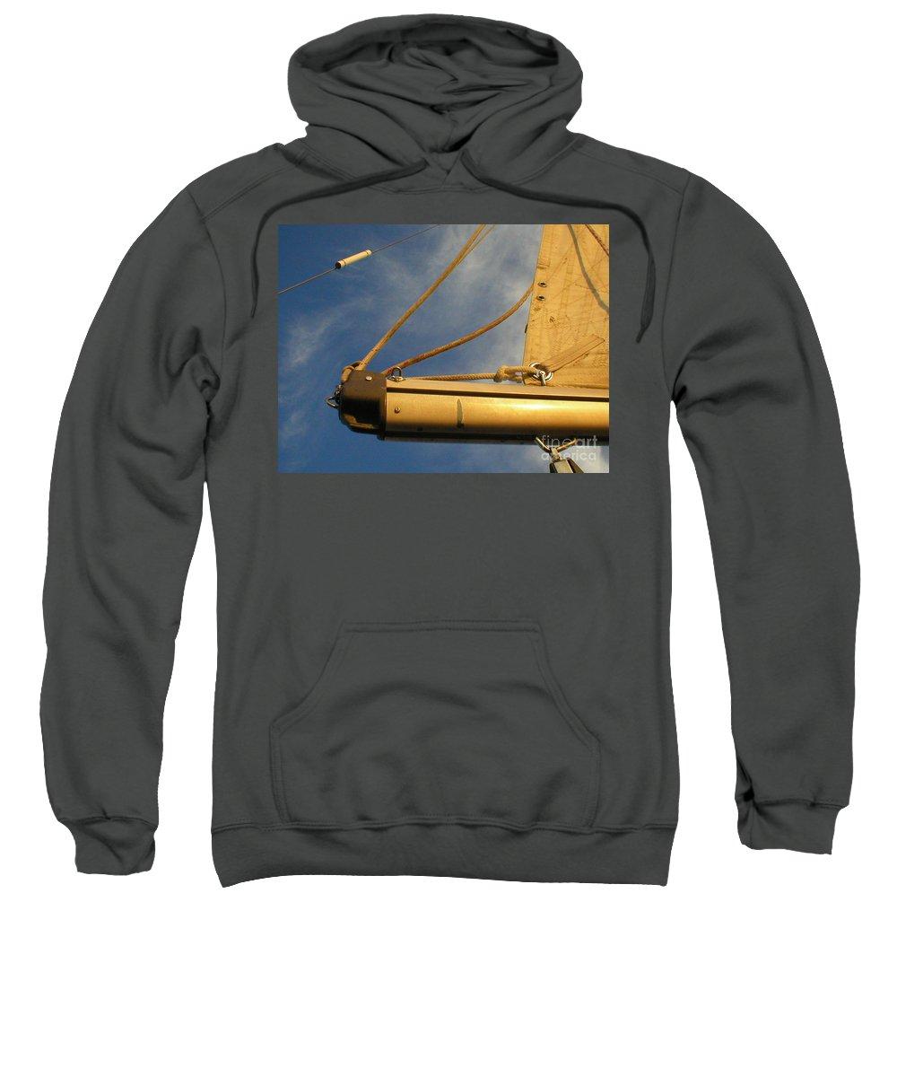 Sail Sweatshirt featuring the photograph Pathfinder 2 by Jan Prewett