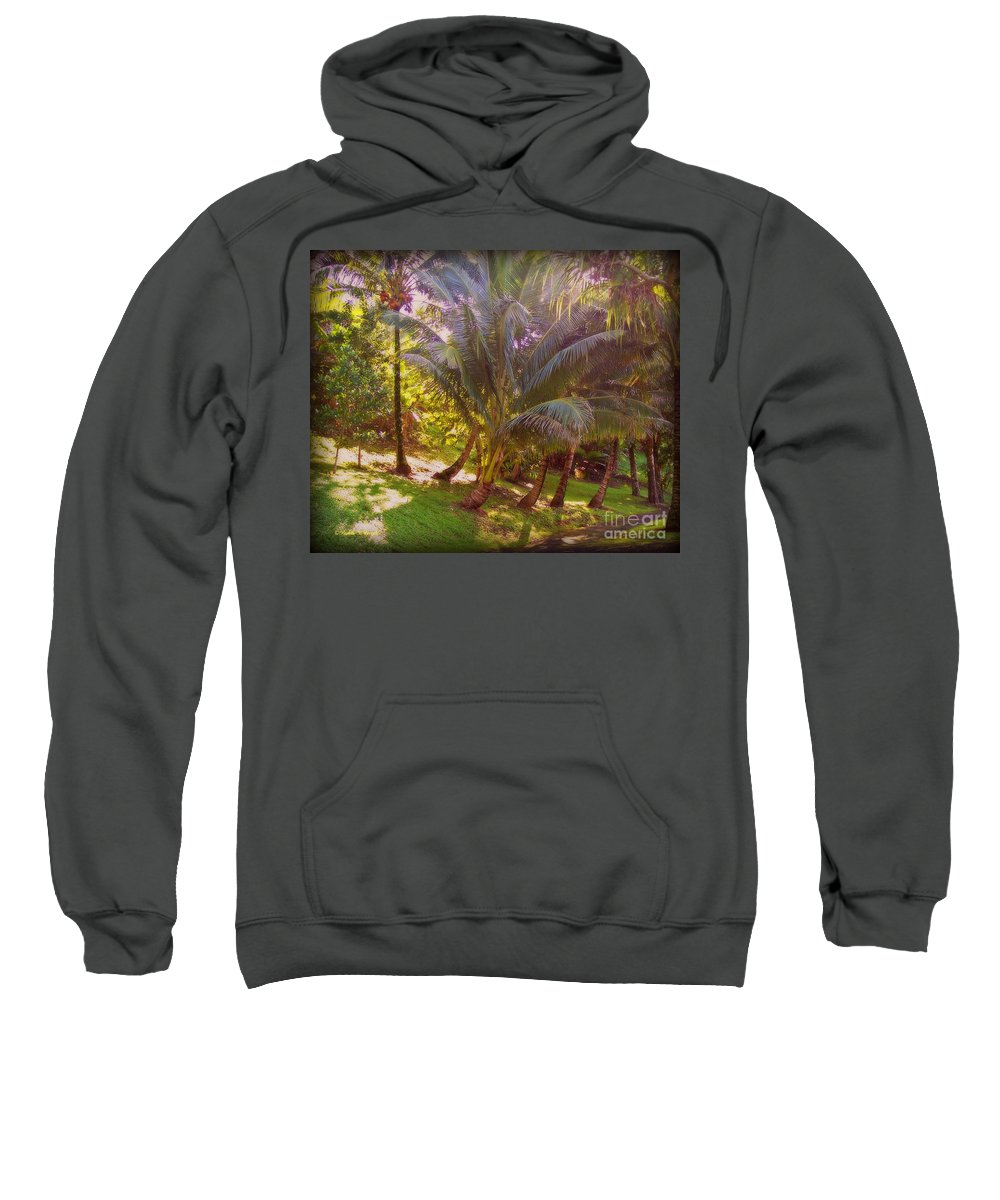 Outdoors Sweatshirt featuring the photograph Pathway by Paulette B Wright