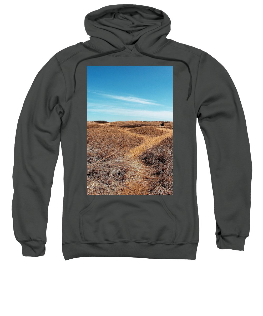 Plum Island Sweatshirt featuring the photograph Plum Island by Jeff Heimlich