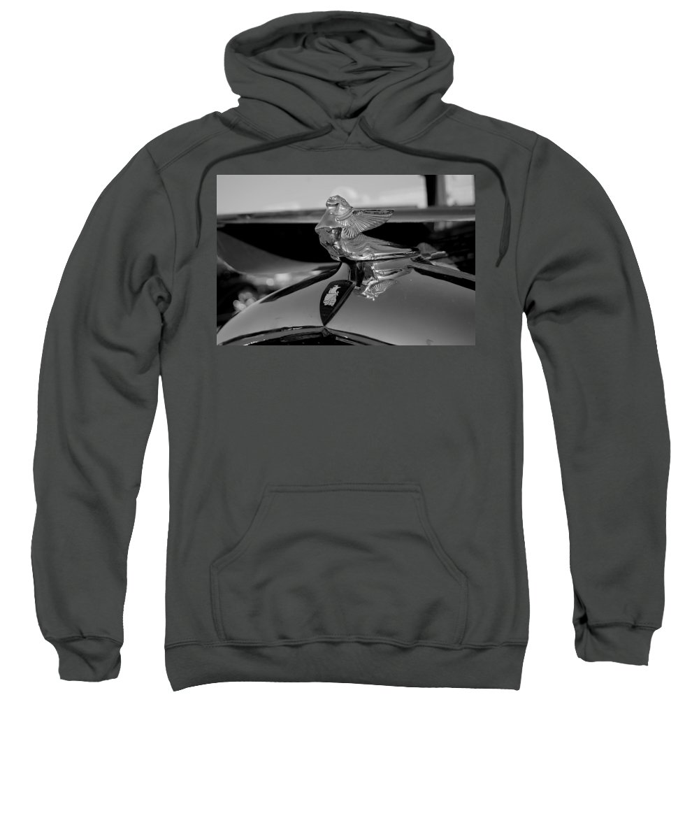 Plymouth Sweatshirt featuring the photograph Plymouth Lady by Beth Gates-Sully