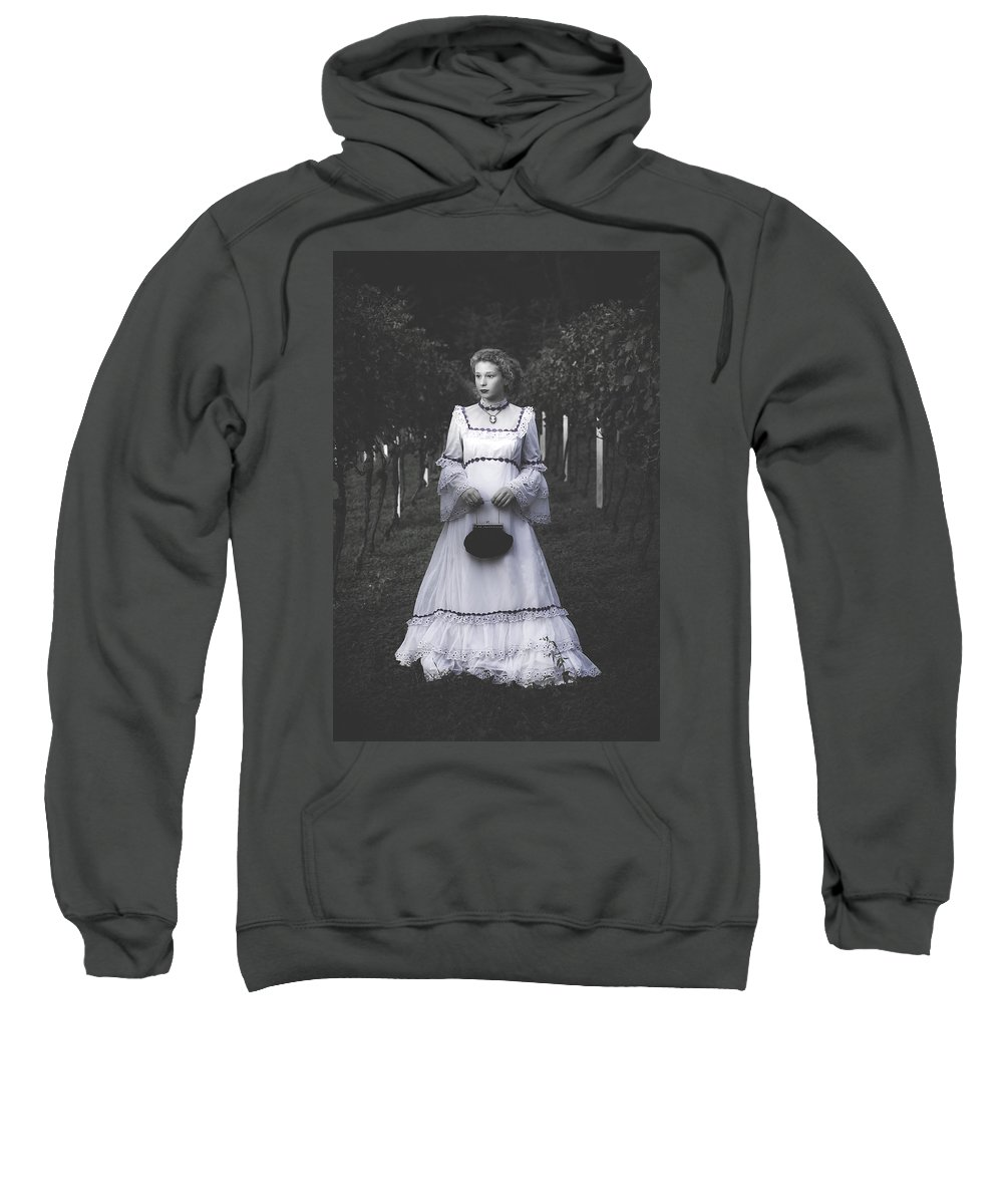 Girl Sweatshirt featuring the photograph Porcelain Doll by Joana Kruse