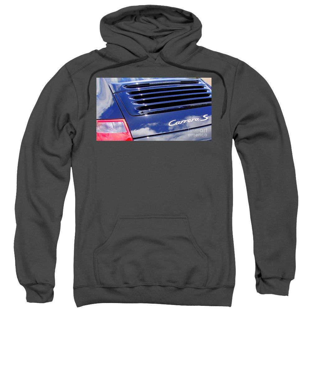 Porsche Sweatshirt featuring the photograph Porsche 911 Carrera S by Mary Deal