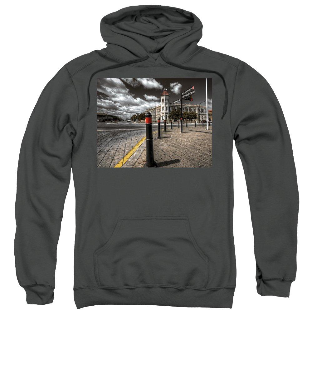 Port Adelaide Sweatshirt featuring the photograph Port Adelaide by Wayne Sherriff