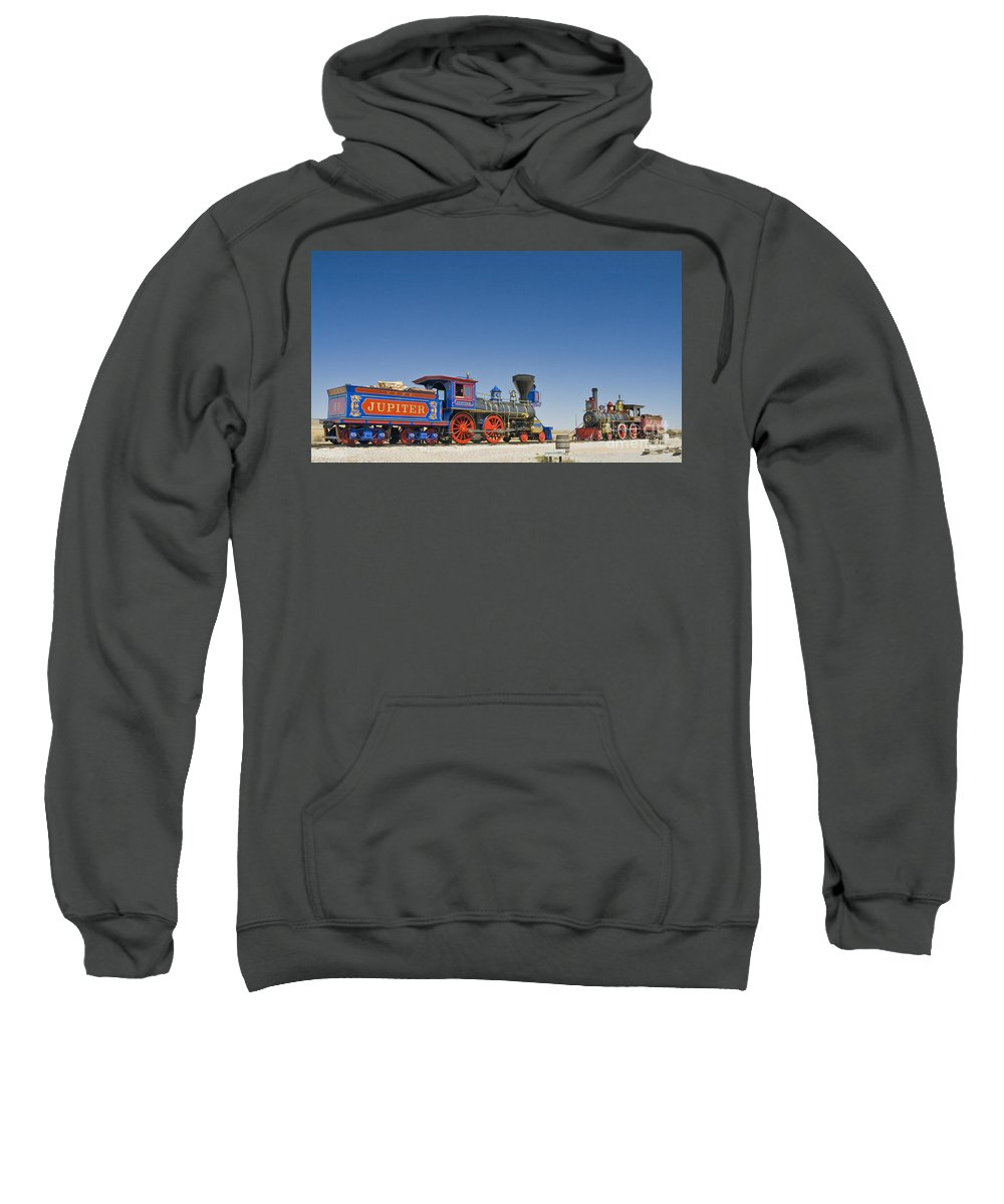 Promontory Point Sweatshirt featuring the photograph Promontory Point by Tim Mulina