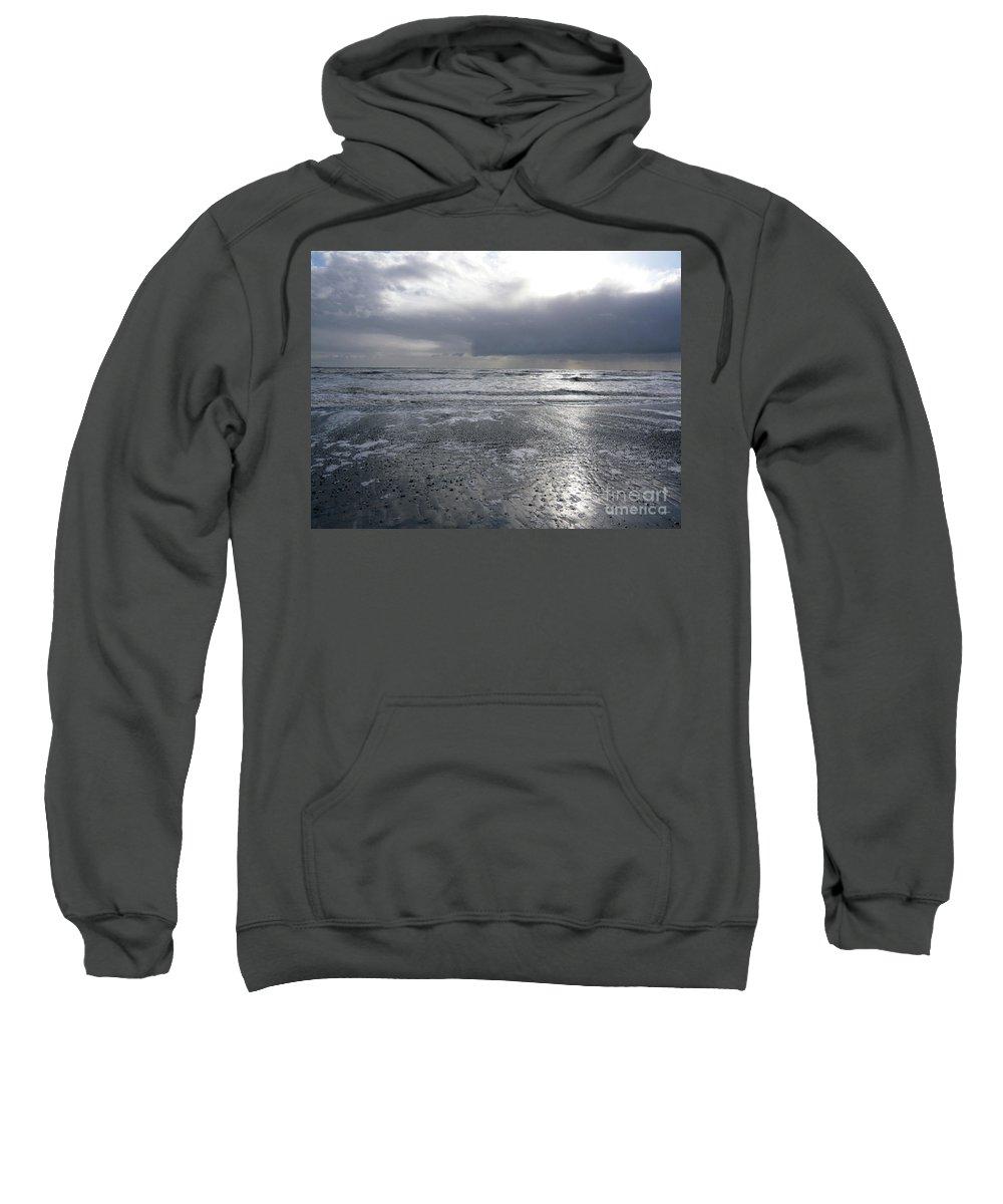 Sea Sweatshirt featuring the photograph Quicksilver by Lauren Leigh Hunter Fine Art Photography