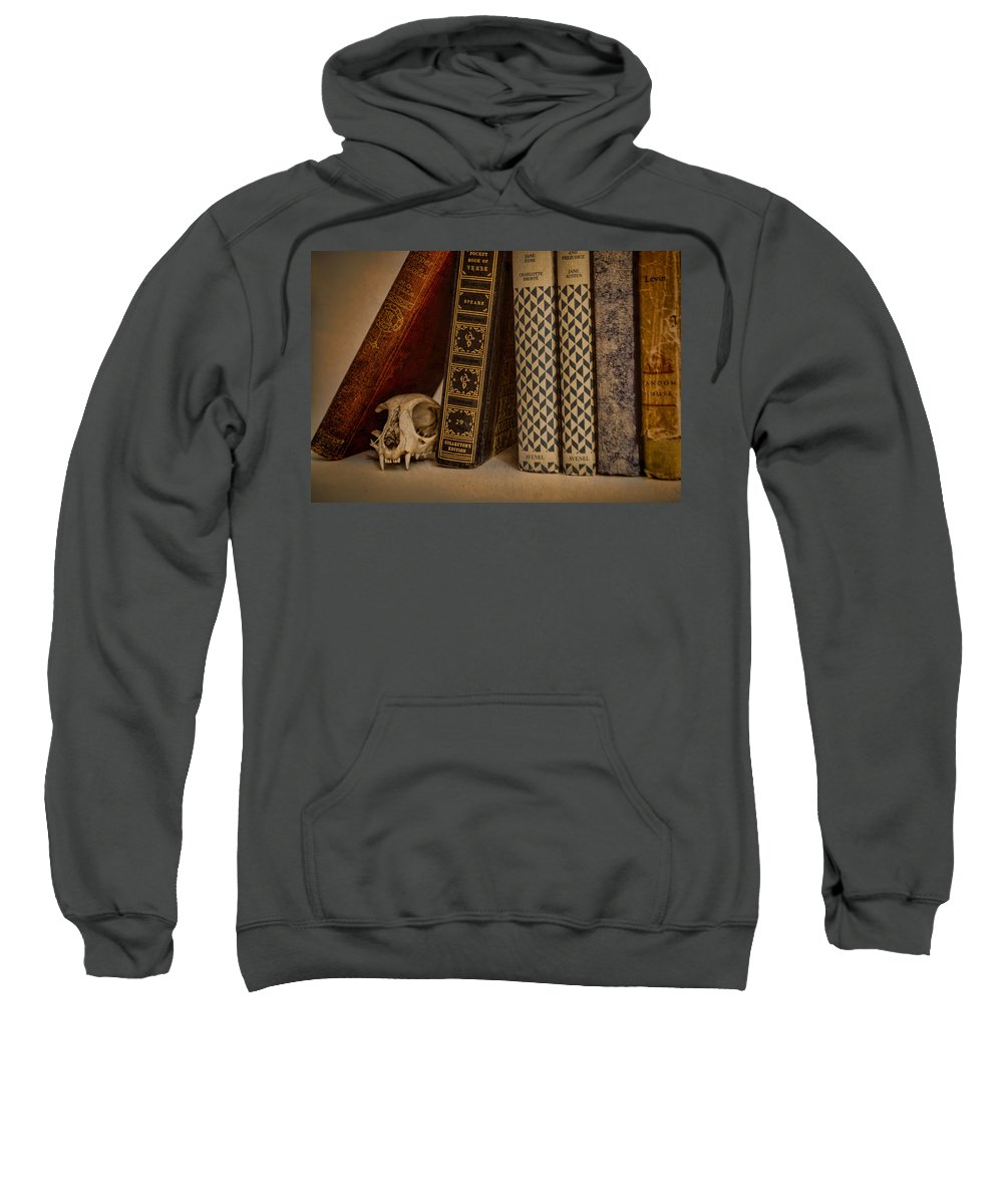 Bone Sweatshirt featuring the photograph Reference by Heather Applegate