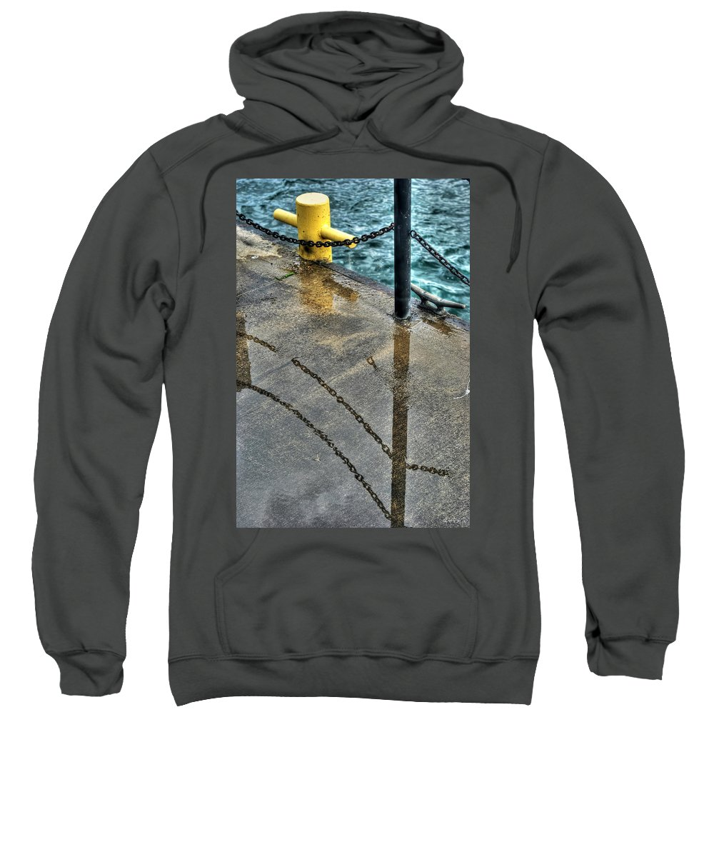 Sweatshirt featuring the photograph Reflections After The Rain by Michael Frank Jr