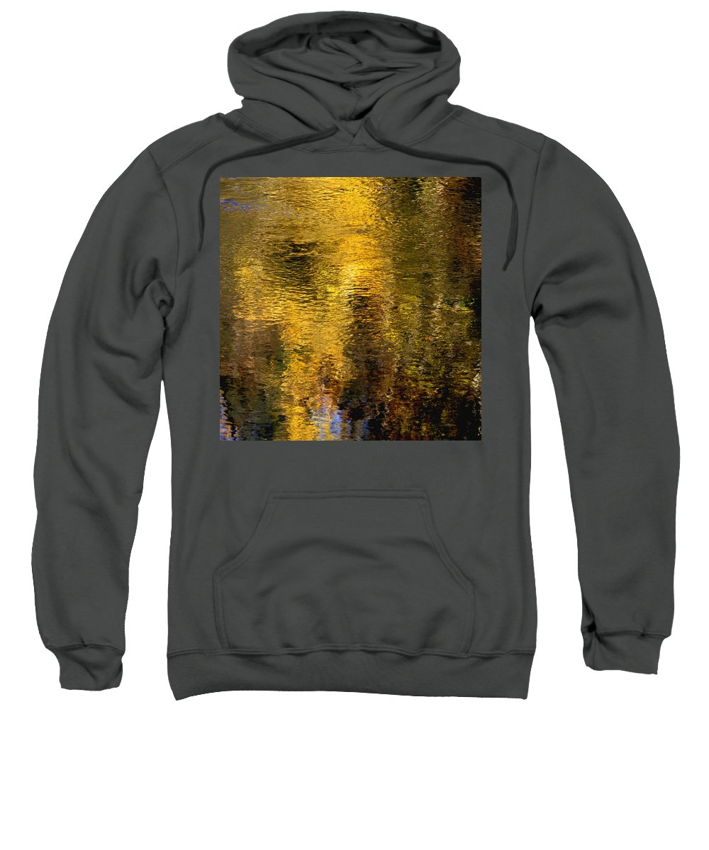 Concept Sweatshirt featuring the photograph Reflections On The Water by David Chapman