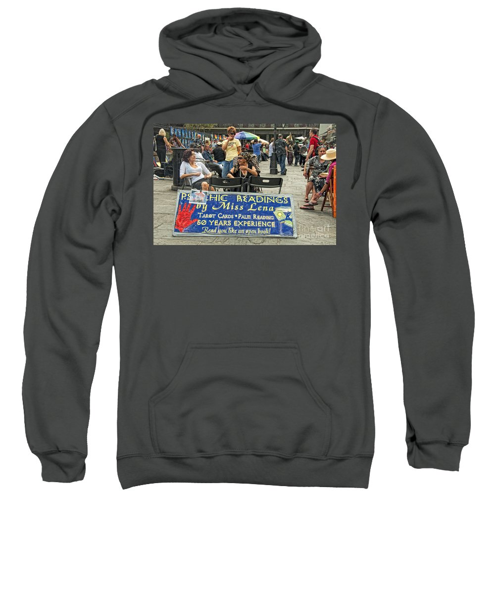 Photography Sweatshirt featuring the photograph Remembering Miss Lena by Kathleen K Parker