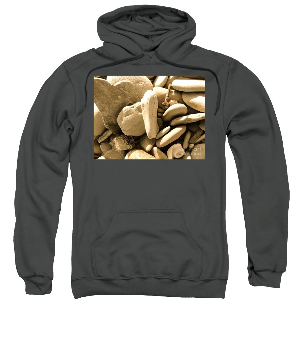 Rocks Sweatshirt featuring the photograph Rock Concert by Trish Hale
