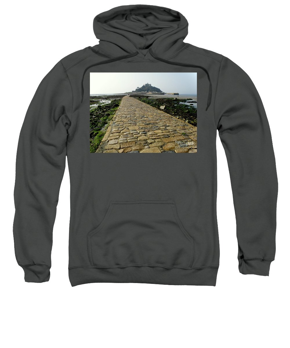 Landscape Sweatshirt featuring the photograph Saint Michael's Mount by Lainie Wrightson