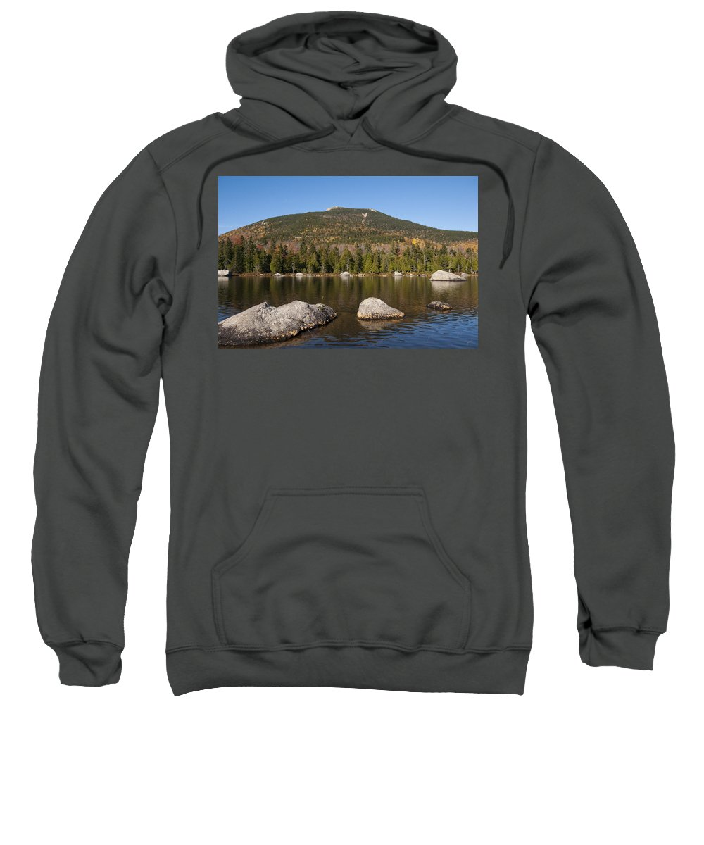 Sandy Stream Sweatshirt featuring the photograph Sandy Stream Fall by Glenn Gordon