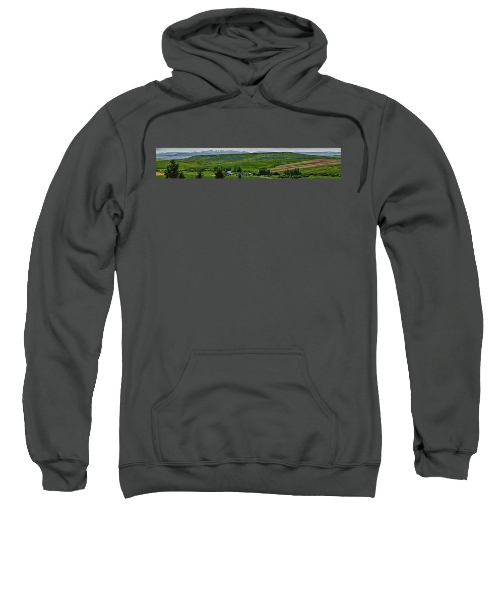 Americas Sweatshirt featuring the photograph Section 13 by Roderick Bley