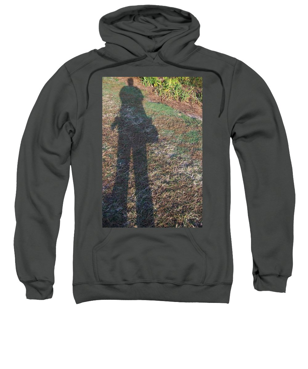 Self Portrait Sweatshirt featuring the photograph Self Portrait by Susan Cliett